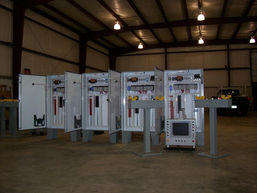 Composite Press Control System